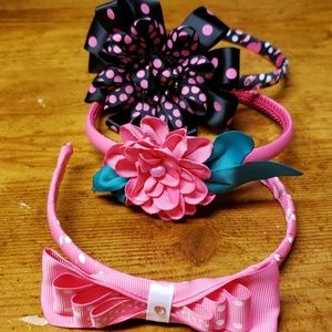 Girls headbands lot 3